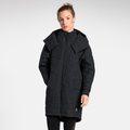 Women's ZAHA Coat, black, large