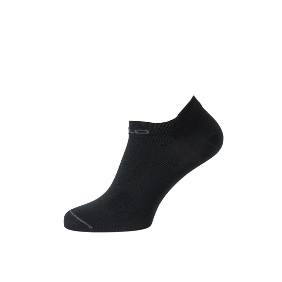 Socks short CERAMICOOL LADIES LOW CUT Light, black - odlo graphite grey, large
