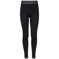 EVOLUTION WARM baselayer pants, black - odlo graphite grey, large