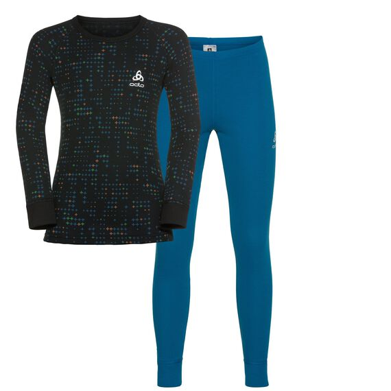Ensemble active originals Warm Kids, mykonos blue - black, large