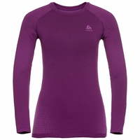 Women's PERFORMANCE WARM ECO Long-Sleeve Baselayer, charisma - purple cactus flower, large