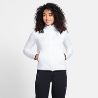 Women's CARVE CERAMIWARM Midlayer, white, large