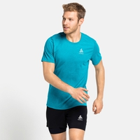 Herren MILLENNIUM LINENCOOL T-Shirt, horizon blue melange, large