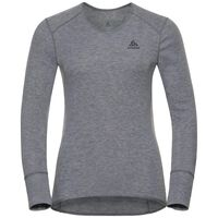 SUW Top V-neck l/s ACTIVE ORIGINALS Warm, grey melange, large