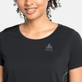 T-shirt ZEROWEIGHT CHILL TEC BLACKPACK da donna, black - blackpack, large