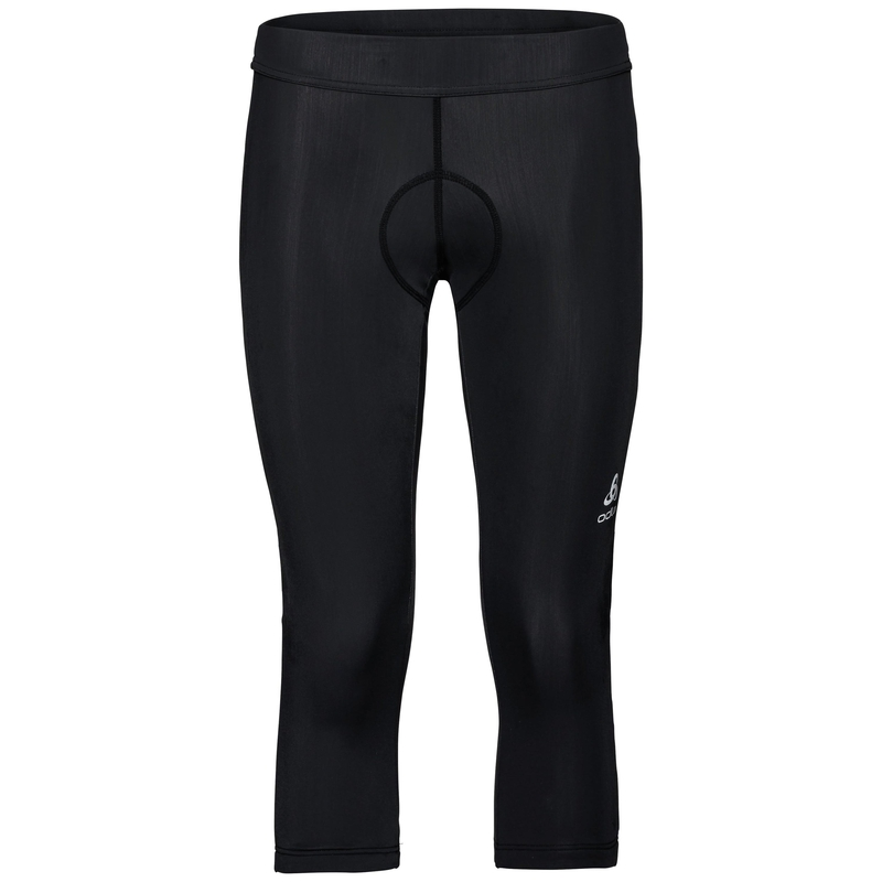 Women's Element 3/4 Cycling Tights, black, large