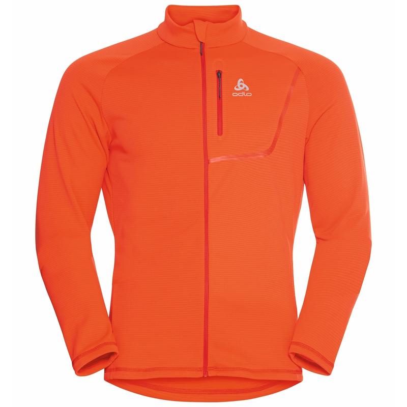 Herren FLI LIGHT Mid Layer, exuberant orange, large