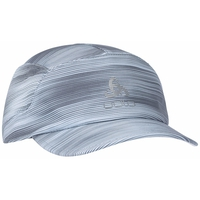 SAIKAI Cap, odlo silver grey - graphic SS21, large