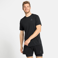 T-Shirt de Running ZEROWEIGHT CHILL-TEC BLACKPACK pour homme, black - blackpack, large