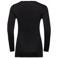 NATURAL + LIGHT-basislaagtop met lange mouwen voor dames, black, large
