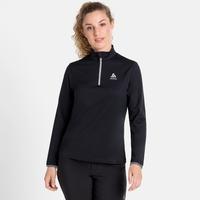 Pull ½ zip ALAGNA pour femme, black, large