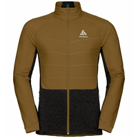 Men's MILLENNIUM S-THERMIC Jacket, golden brown - black, large