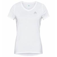 ETHEL-T-shirt voor dames, white, large