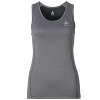 SELLA bike singlet, black melange, large