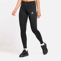 Women's ESSENTIALS SOFT Running Tights, black, large