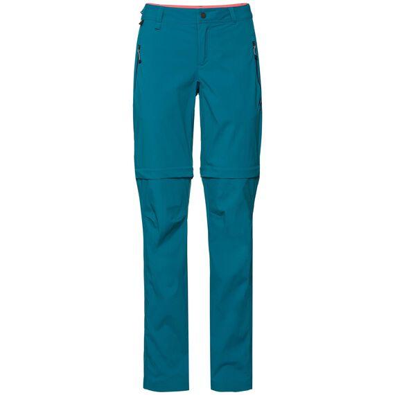 Pants zip-off WEDGEMOUNT, crystal teal, large