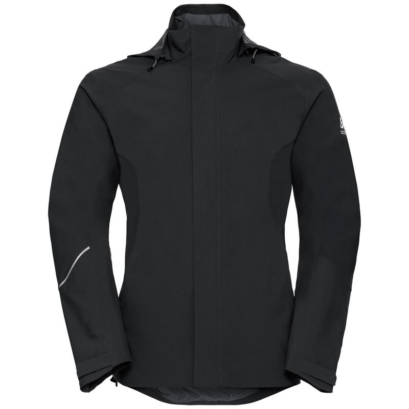 Men's FREMONT Hardshell Jacket, black, large
