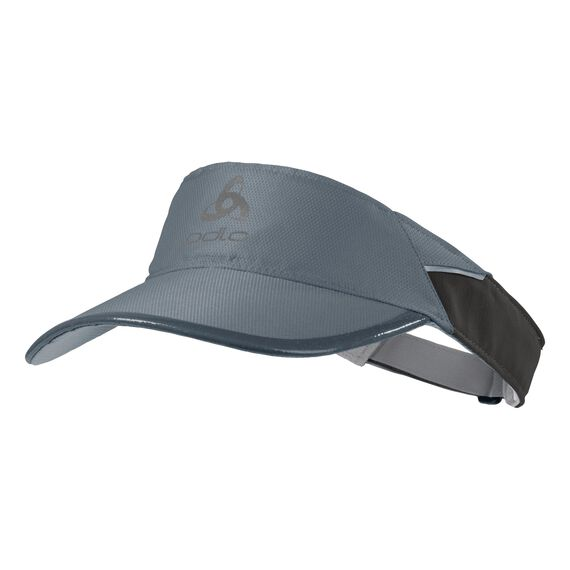 Visor cap FAST & Light, odlo graphite grey, large