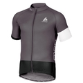 Stand-up collar s/s full zip TELEGRAPHE, odlo graphite grey - black, large