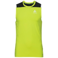 BL TOP ZEROWEIGHT CeramiCool Tanktop mit Rundhalsausschnitt, acid lime - black, large