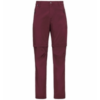 Men's WEDGEMOUNT Zip-Off Pants, zinfandel, large