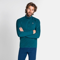 Midlayer con 1/2 zip CARVE LIGHT da uomo, submerged, large