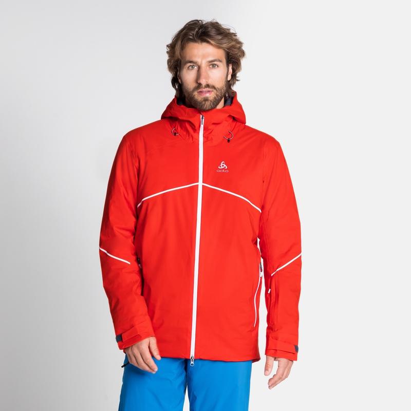 Men's SLY Insulated Jacket, orange.com, large