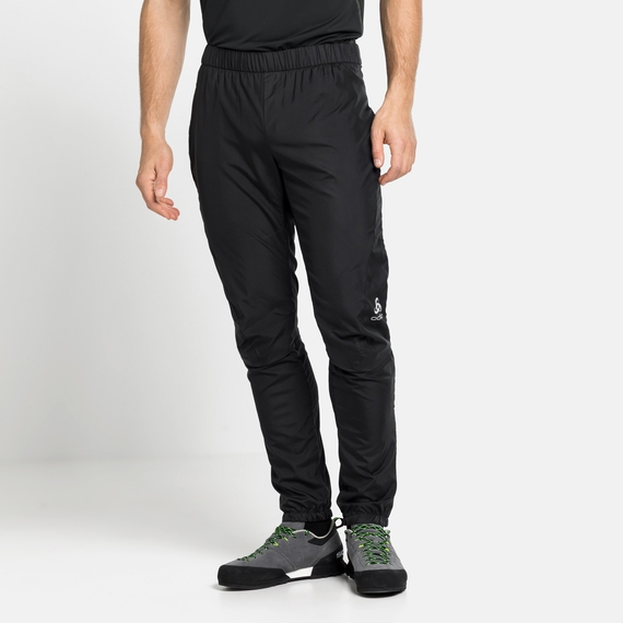 MILES-broek voor heren, black, large