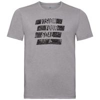 T-shirt MILLENNIUM ELEMENT PRINT da uomo, grey melange - placed print FW19, large