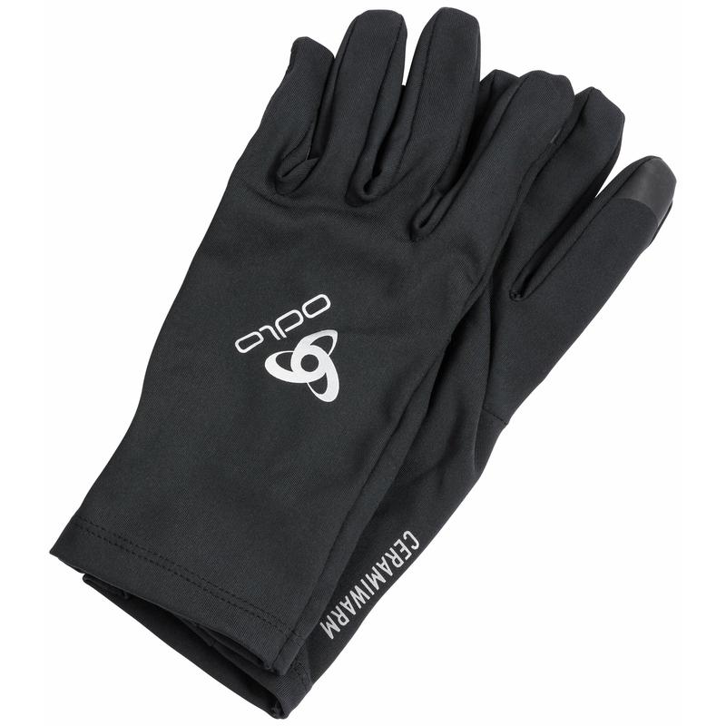 CERAMIWARM LIGHT-handschoenen, black, large
