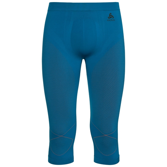 Pants 3/4 EVOLUTION WARM, mykonos blue - orangeade, large