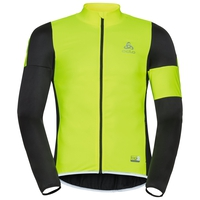 Chaqueta MISTRAL Logic, black - safety yellow, large