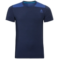 BL Top Crew neck s/s CERAMICOOL, diving navy - sodalite blue, large