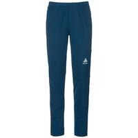 STRYN cross-country pants, blue opal - mykonos blue, large
