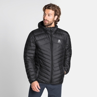 Men's HOODY COCOON N-THERMIC WARM Insulated Jacket, black, large
