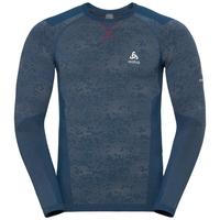 Shirt l/s crew neck Blackcomb EVOLUTION WARM FAN, france 17, large