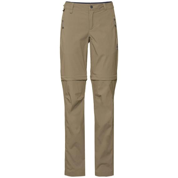 Damen WEDGEMOUNT Zip-Off Hose, lead gray, large