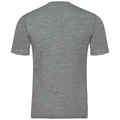 Men's ALLIANCE KINSHIP T-Shirt, odlo concrete grey melange - camping print FW18, large