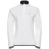 Midlayer 1/2 zip CARVE Warm, white, large