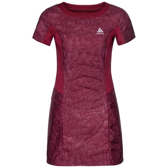Dress IRBIS X-Warm, rumba red - AOP FW18, large