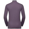 Pull ½ zip ALAGNA pour femme, vintage violet, large