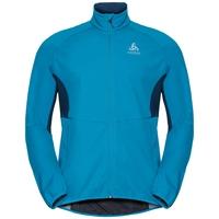 Jacket AEOLUS ELEMENT WARM  FAN, blue jewel - poseidon, large