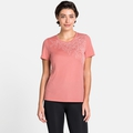 Women's F-DRY T-Shirt, lantana - leaf print SS20, large