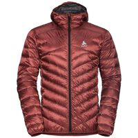 Jacket Hoody Air COCOON, red dahlia, large