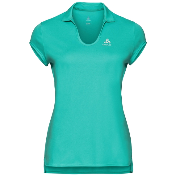 Polo manches courtes KUMANO LIGHT, pool green, large