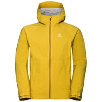 Men's AEGIS Hardshell Jacket, lemon curry, large