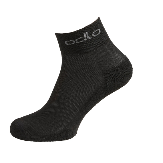 SPORT SOCKS MID X-LIGHT Socken 3er-Pack, black, large