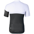 Stand-up collar s/s full zip KAMIKAZE, white - odlo graphite grey, large
