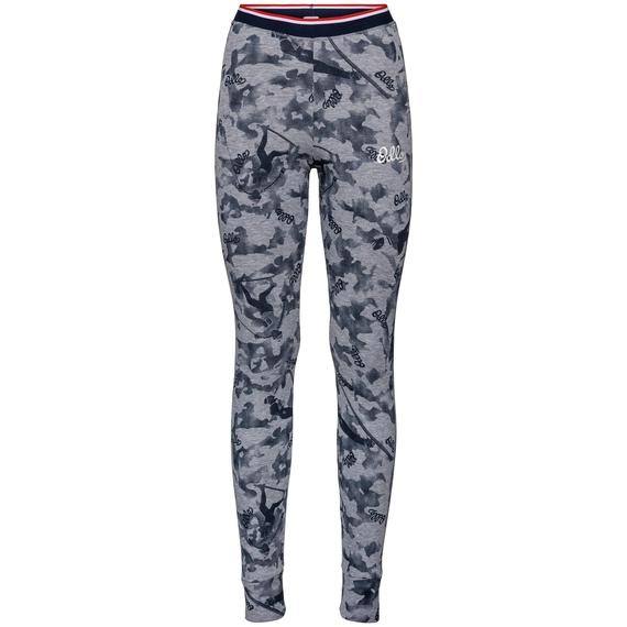 Pantaloni Base Layer ACTIVE WARM ORIGINALS da donna, grey melange - AOP FW19, large