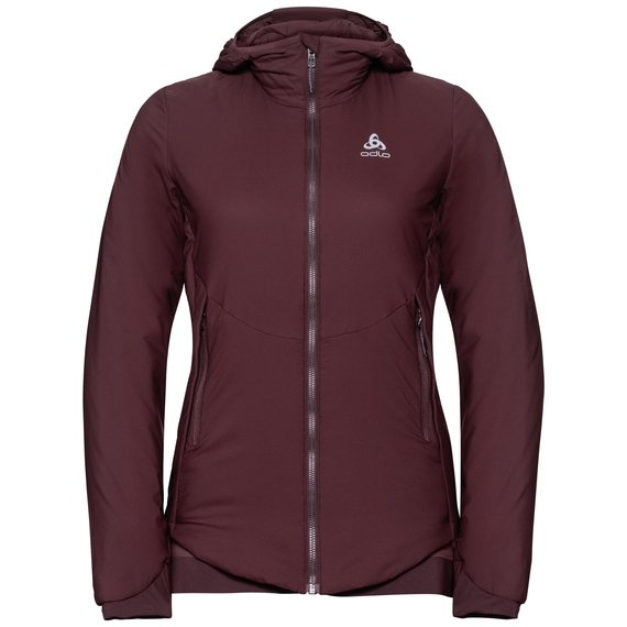 Women's FLI S-THERMIC Insulated Jacket, decadent chocolate, large